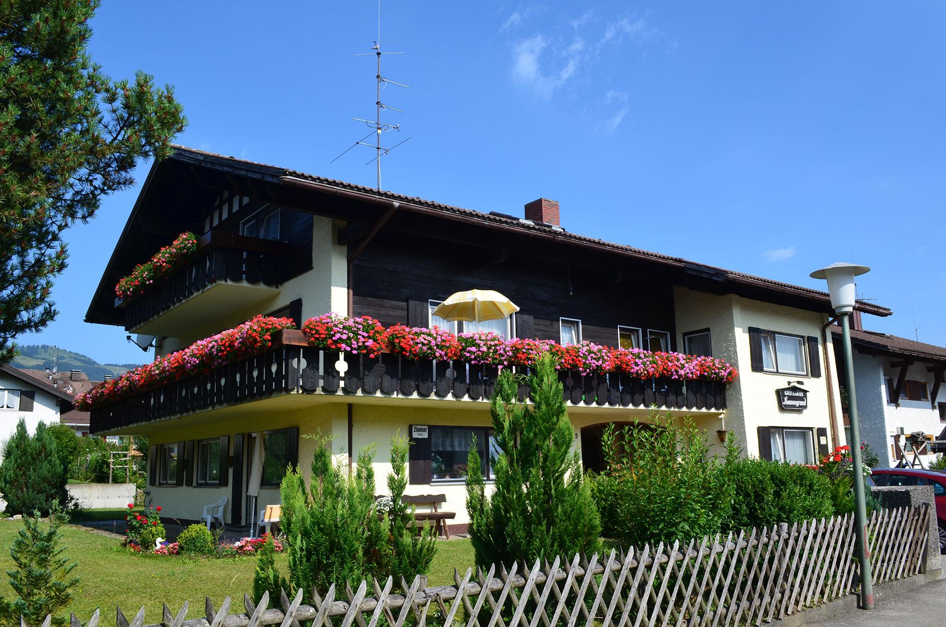 Gästehaus Sonnengrund in Fischen