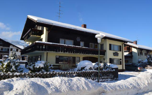 Gästehaus Sonnengrund im Winter