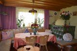 Frühstücksraum im Gästehaus Sonnengrund